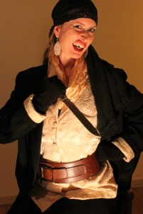 Pirate with broken tooth